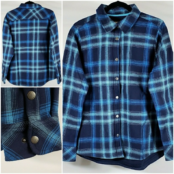 NWT Orvis Women/'s Plaid Fleece Lined Shirt Jacket Choose a style//size